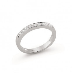 Inel din aur 18K cu diamante 0,09 ct., model Orsini 0606