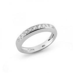 Inel din aur 18K cu diamante 0,09 ct., model Orsini 0733P