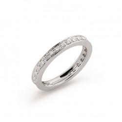 Inel eternity din aur 18K cu diamante 0,24 ct., model Orsini 0769