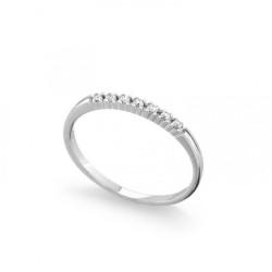 Inel din aur 18K cu diamante 0,07 ct., model Orsini 0847