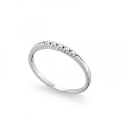 Inel din aur 18K cu diamante 0,05 ct., model Orsini 0848