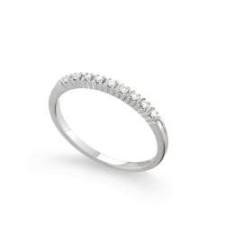 Inel din aur 18K cu diamante 0,09 ct., model Orsini 0849