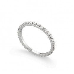 Inel eternity din aur 18K cu diamante 0,28 ct., model Orsini 0850
