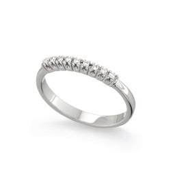 Inel din aur 18K cu diamante 0,08 ct., model Orsini 1380G-P