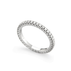 Inel eternity din aur 18K cu diamante 0,35 ct., model Orsini 1641G-01