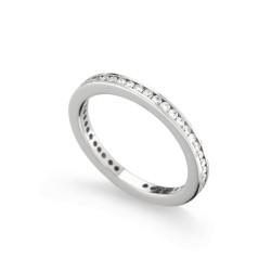 Inel eternity din aur 18K cu diamante 0,60 ct., model Orsini 1770G-02