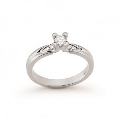 Inel de logodna din aur 18K cu diamante 0,23 ct., model Orsini 2446G