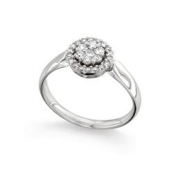 Inel de logodna din aur 18K cu diamante 0,40 ct., model Orsini 2673G