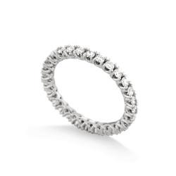 Inel eternity din aur 18K cu diamante 0,90 ct., model Orsini 2702G