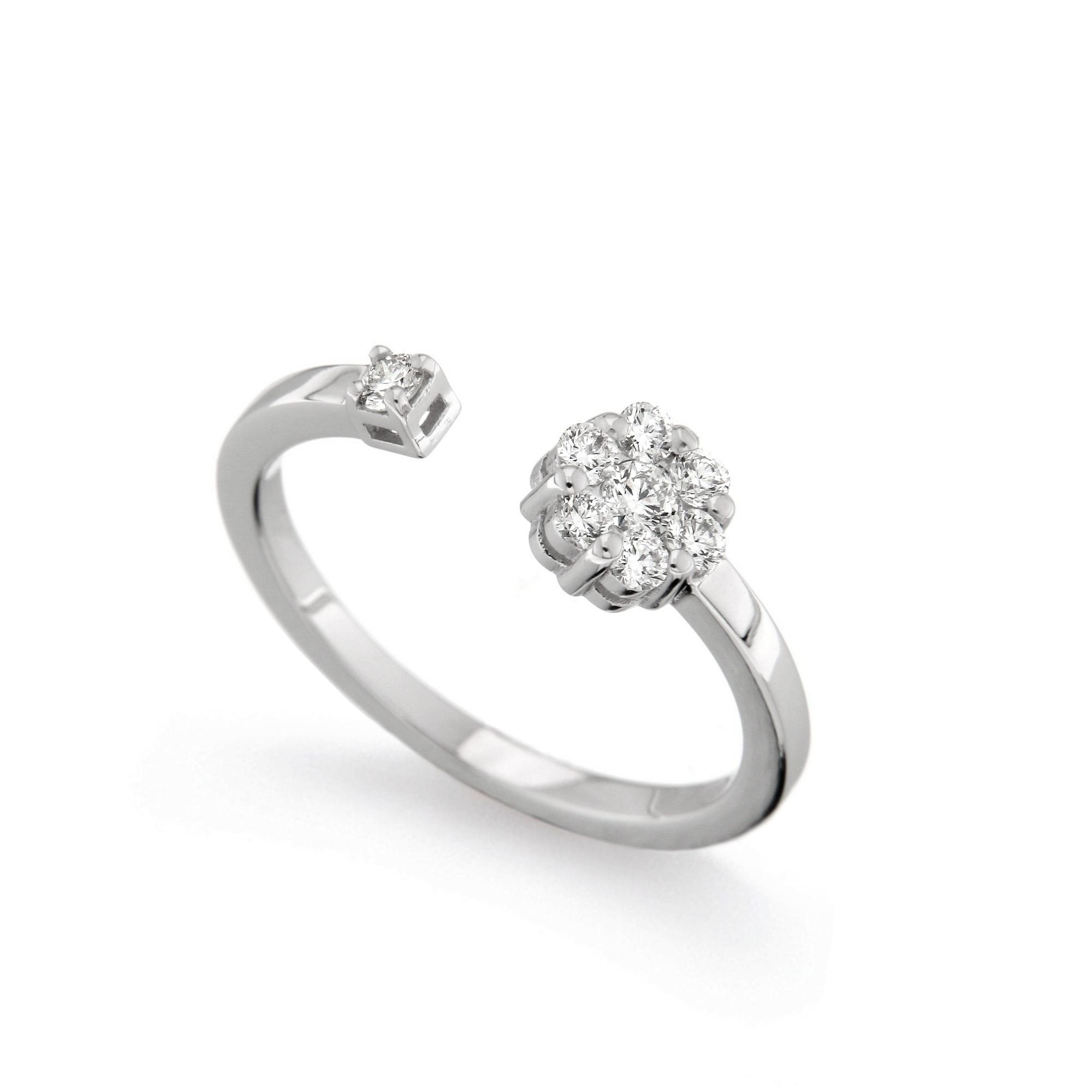 Inel din aur 18K cu diamante 0,28 ct., model Orsini 2724G