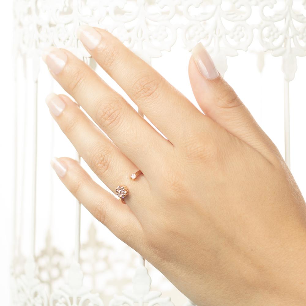 Inel din aur 18K cu diamante 0,27 ct., model Orsini 2724G-BW1