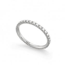 Inel eternity din aur 18K cu diamante 0,24 ct., model Orsini 2747G