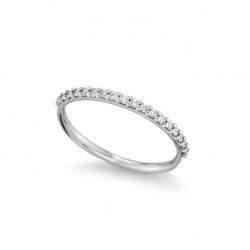 Inel din aur alb 18K cu diamante 0,20 ct., model Orsini 2793G