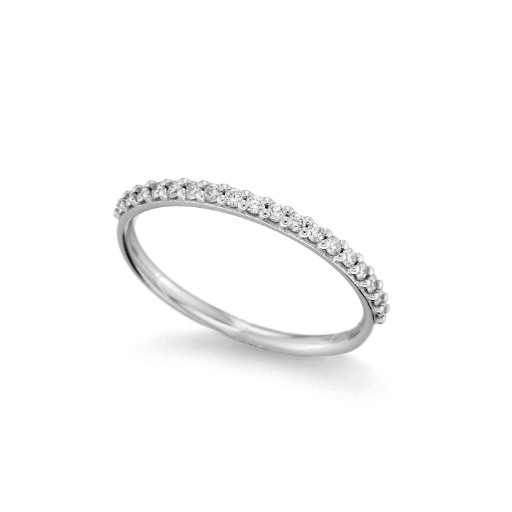 Inel din aur 18K cu diamante 0,20 ct., model Orsini 2793G