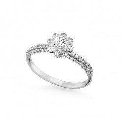 Inel de logodna din aur 18K cu diamante 0,63 ct., model Orsini 2872G