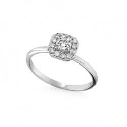 Inel de logodna din aur 18K cu diamante 0,40 ct., model Orsini 2873G