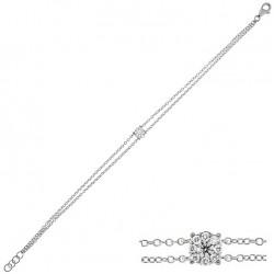 Bratara din aur 18K cu diamante 0,21 ct., model Orsini BR0143
